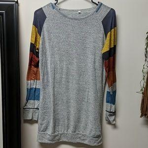 Long shirt/dress long sleeved